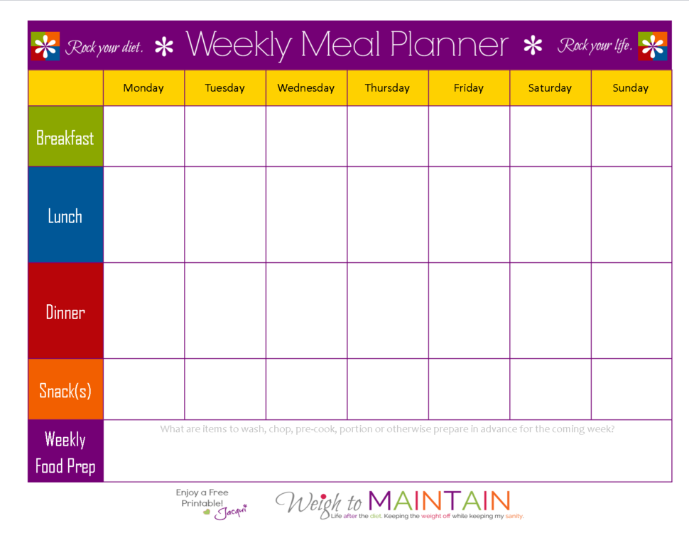 Large Size of Meal Plan Templates Free Spreadsheet