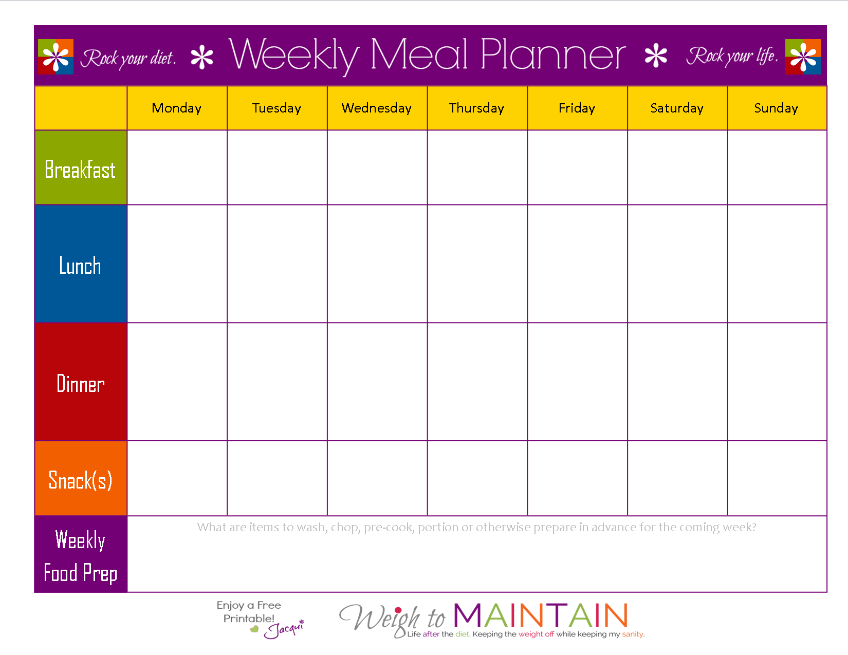 Full Size of Meal Plan Templates Free Spreadsheet