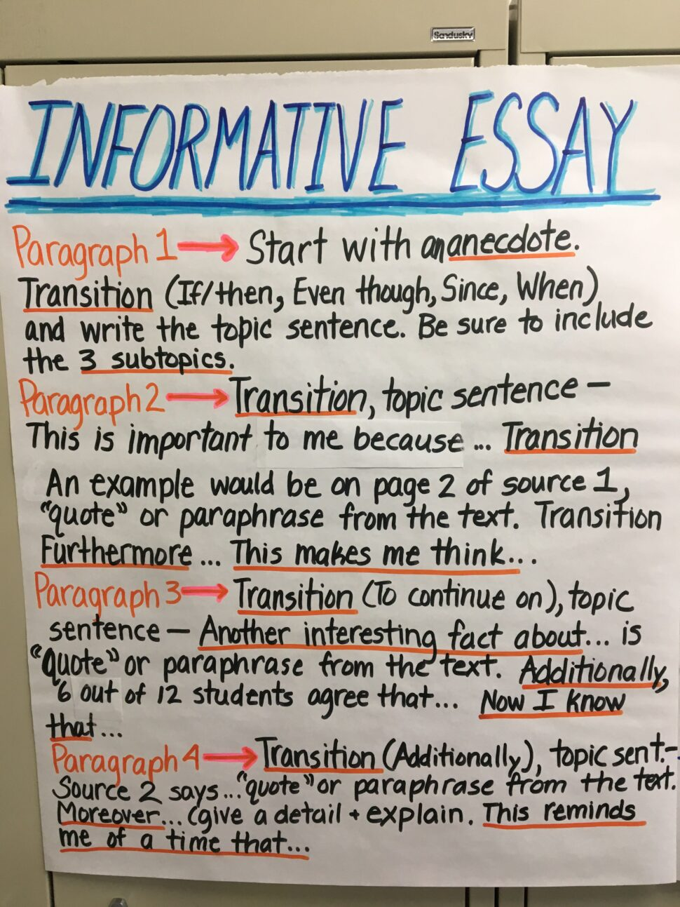 Large Size of 6th Grade Informative Essay Examples