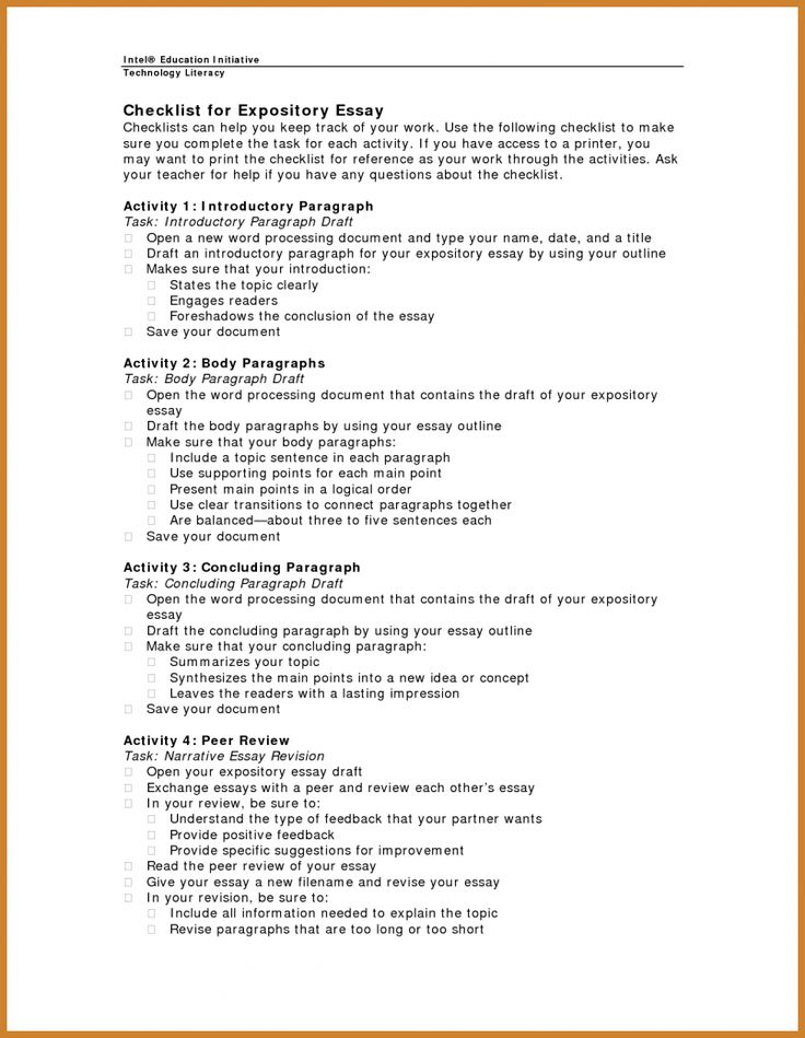 Full Size of Expository Essay Outline College