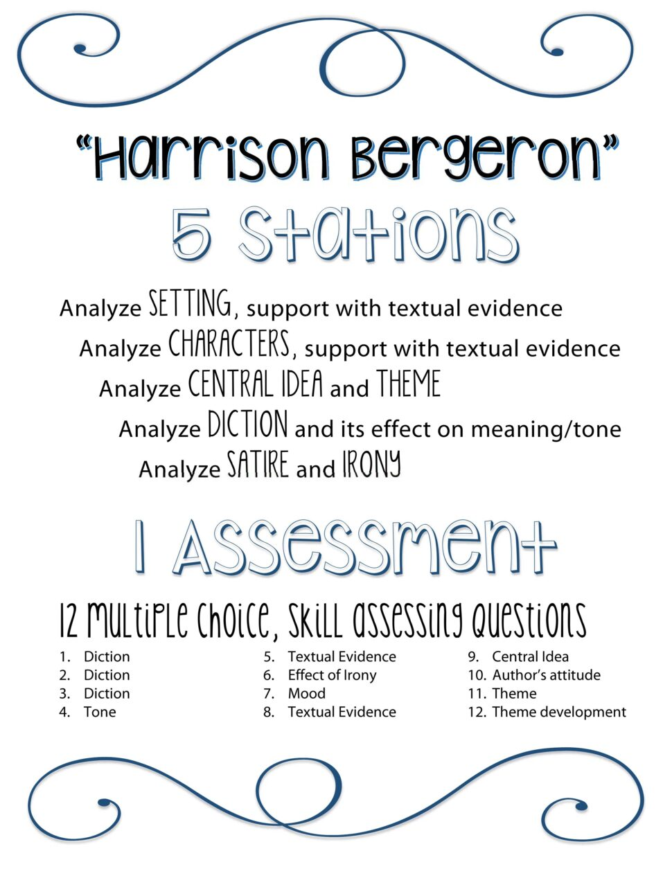 Large Size of Harrison Bergeron Essay Questions