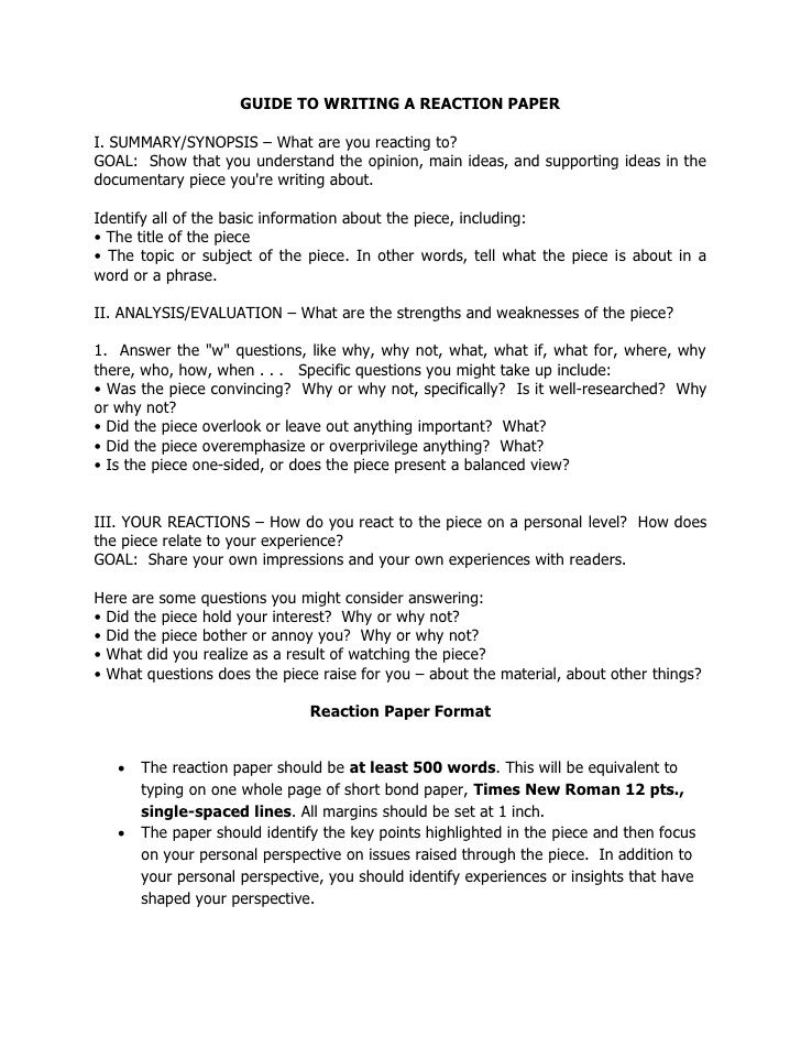 How To Open A Reflective Essay