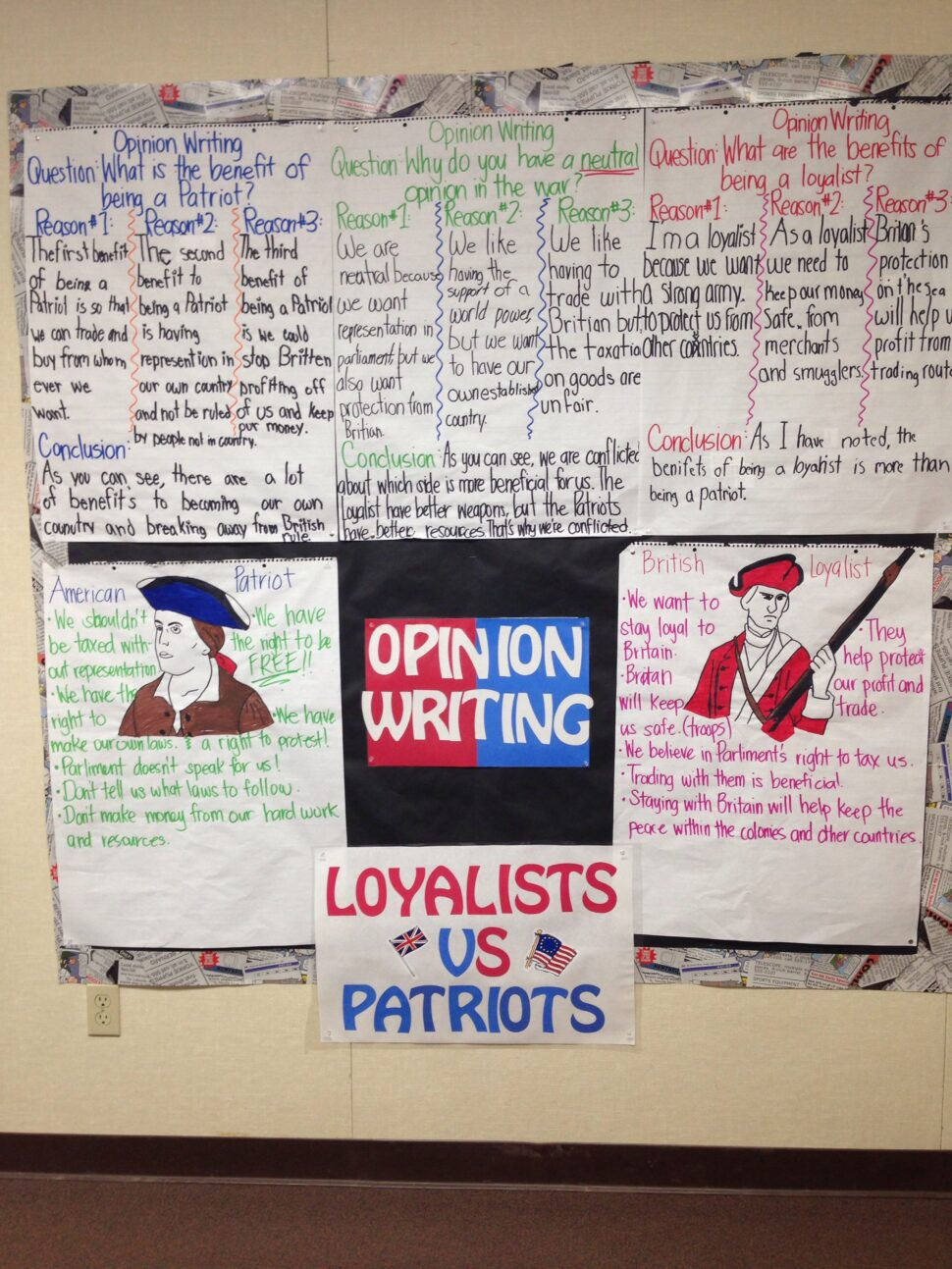 Large Size of American Revolution Essay Example