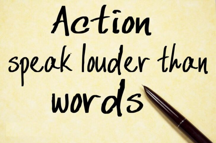 Actions Speak Louder Than Words Essay Css