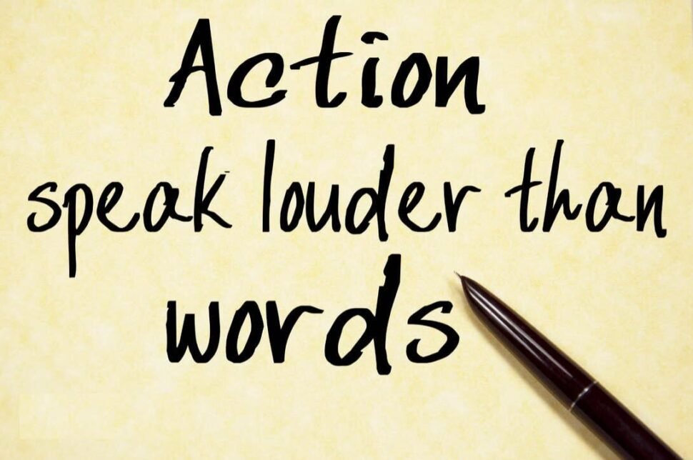 Large Size of Actions Speak Louder Than Words Essay Css