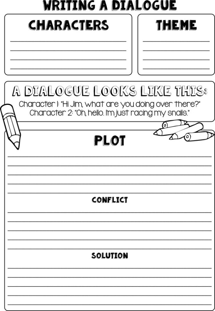 How To Put Dialogue In An Essay Example
