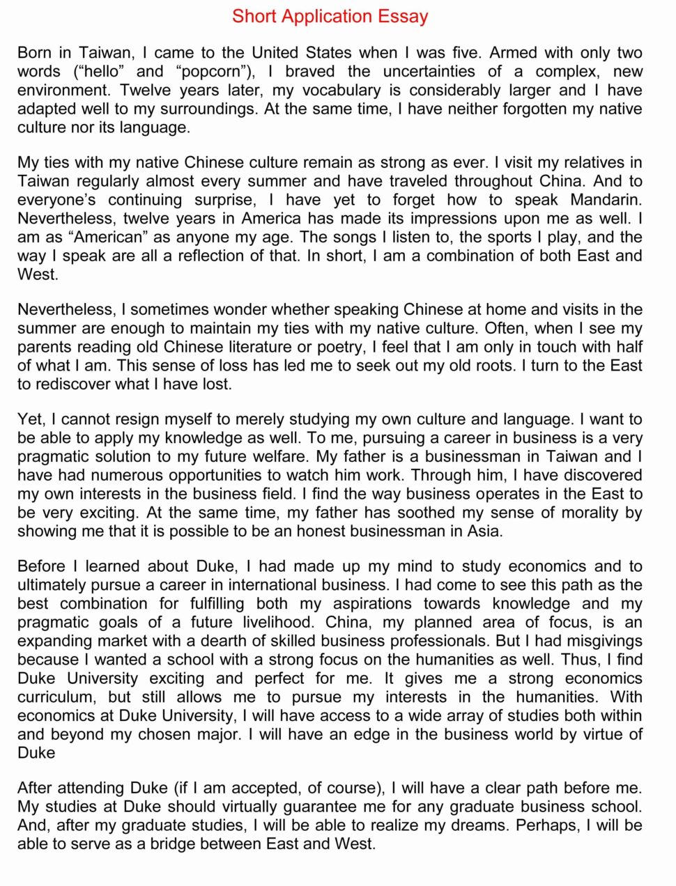 Large Size of About Me Essay Introduction