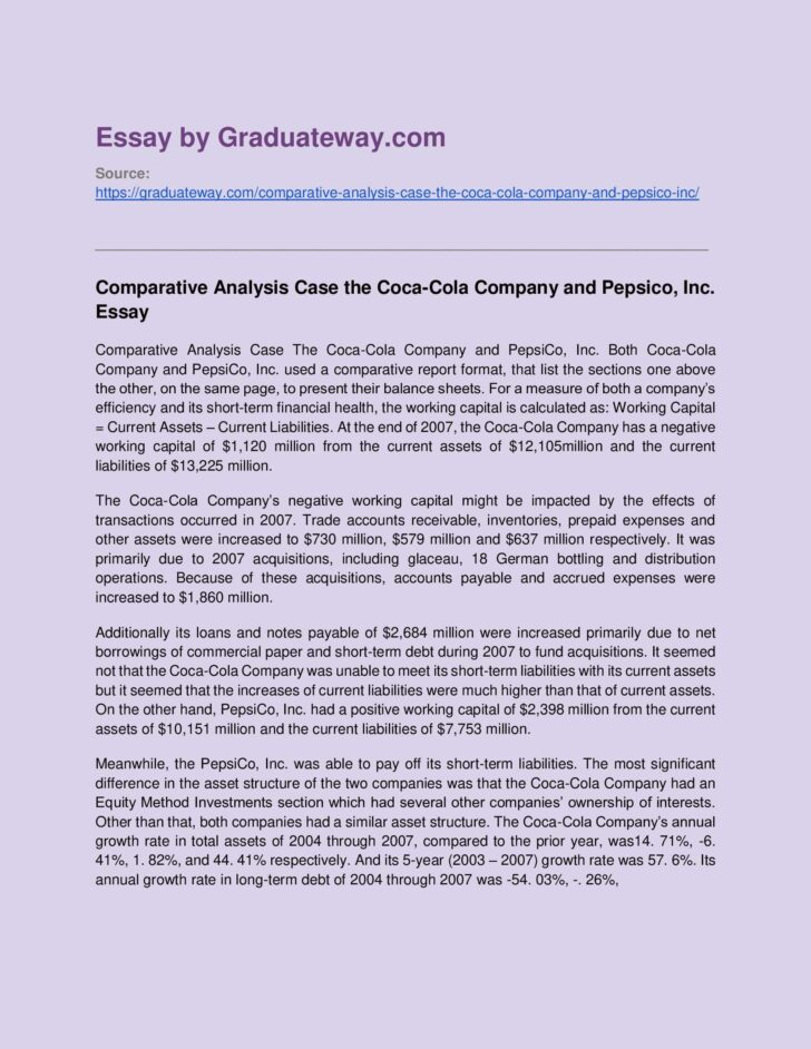What Is A Comparative Analysis Essay