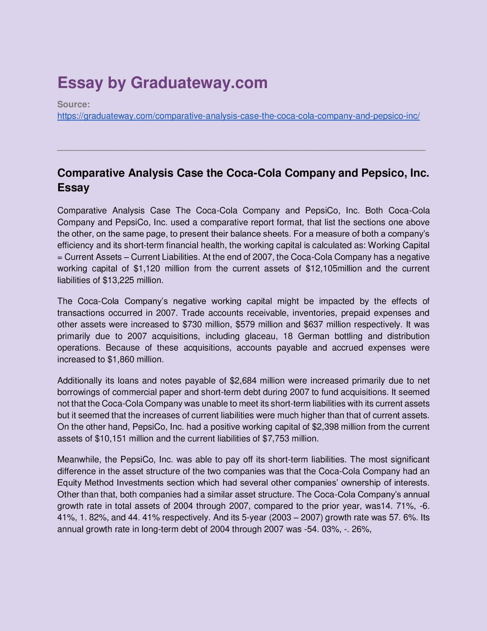 Full Size of Comparative Analytical Essay Format