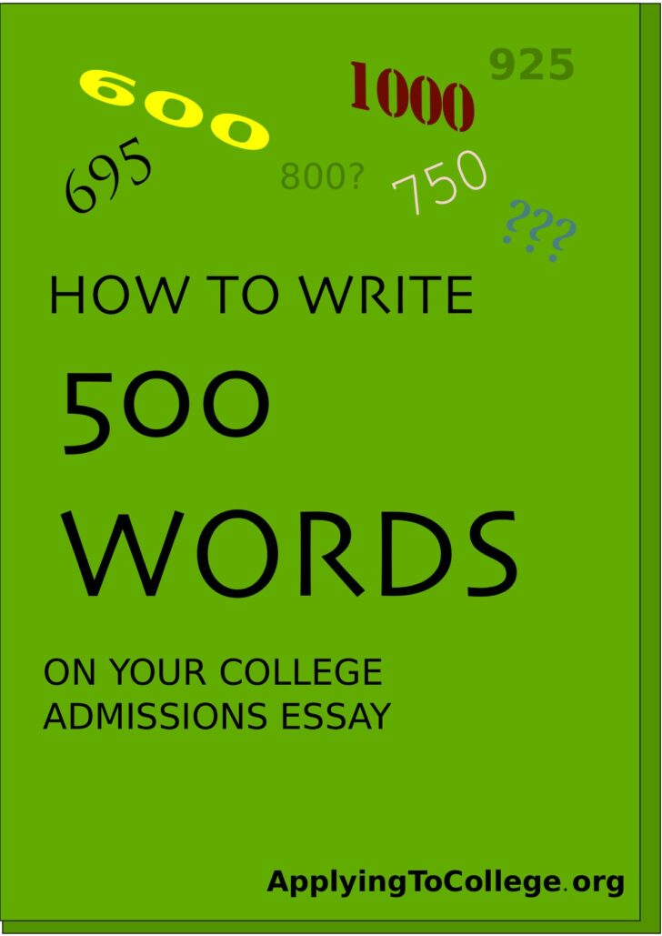 Medium Size of How Many Words Is The Common App Essay 2022