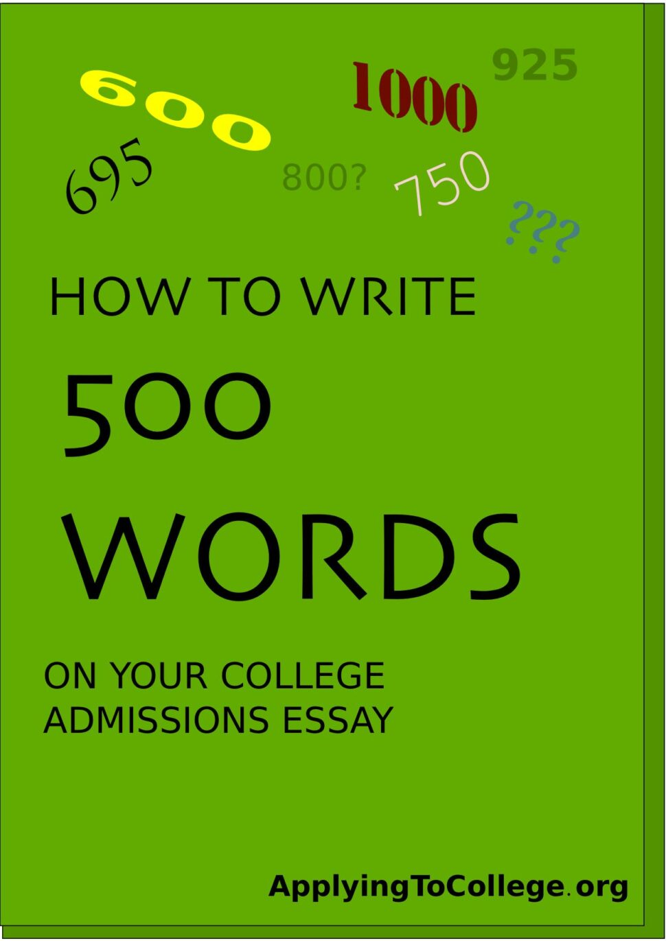 Large Size of How Many Words Is The Common App Essay 2022