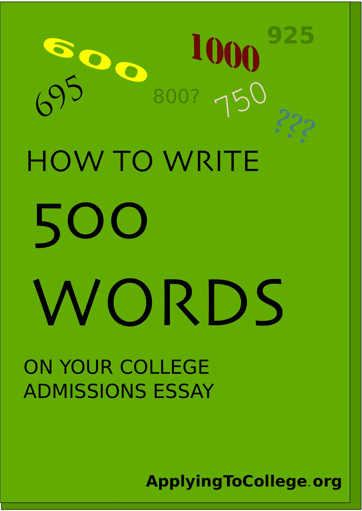 Full Size of How Many Words Is The Common App Essay 2022