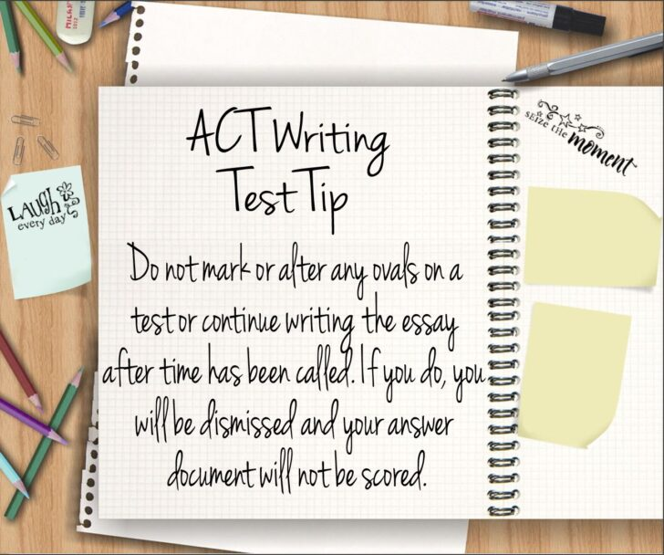 Act Test Essay Tips