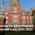 Thumbnail Size of Johns Hopkins College Essay Prompt