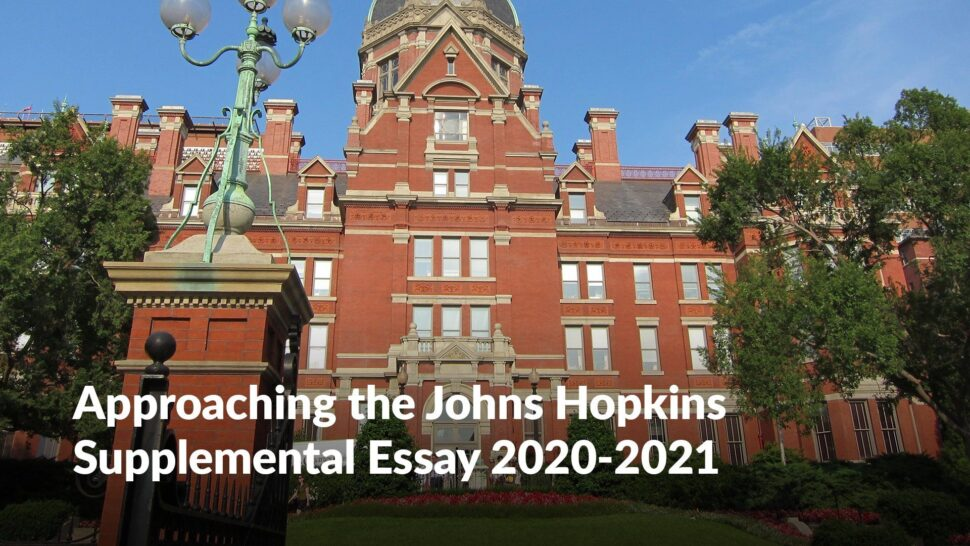 Large Size of Johns Hopkins College Essay Prompt
