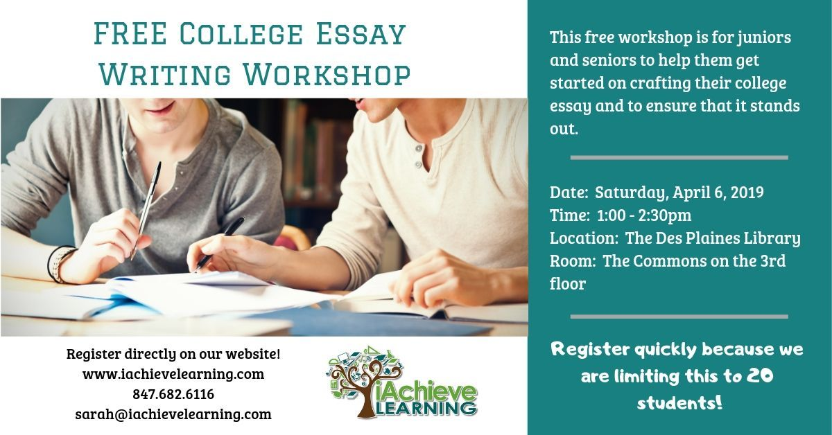 Full Size of Free College Essay Workshop
