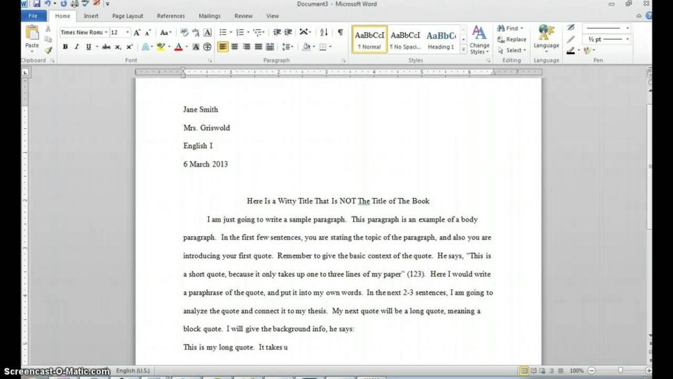 Large Size of Starting An Essay With A Block Quote