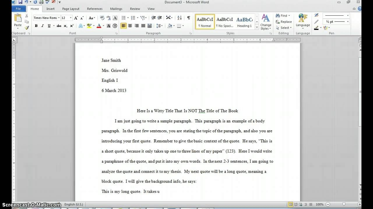Full Size of Starting An Essay With A Block Quote