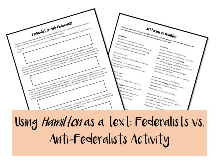 Full Size of Federalist Vs Anti Quote Analysis Essay