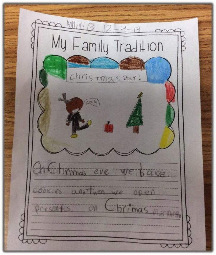 Family Christmas Traditions Essay