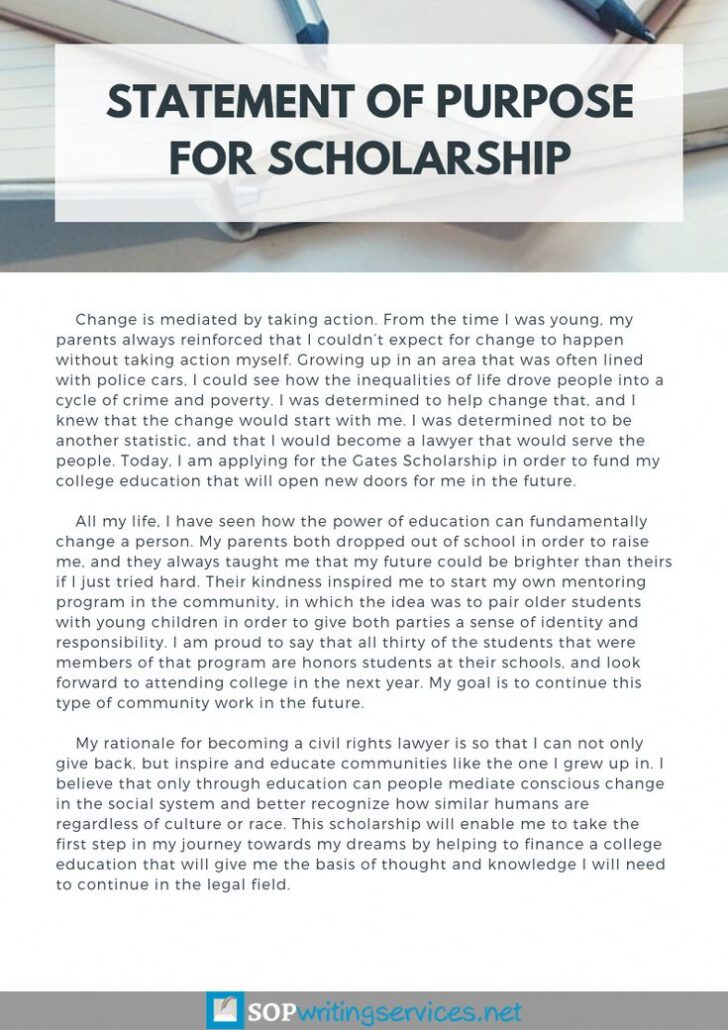 How To Write An Autobiography Essay For A Scholarship