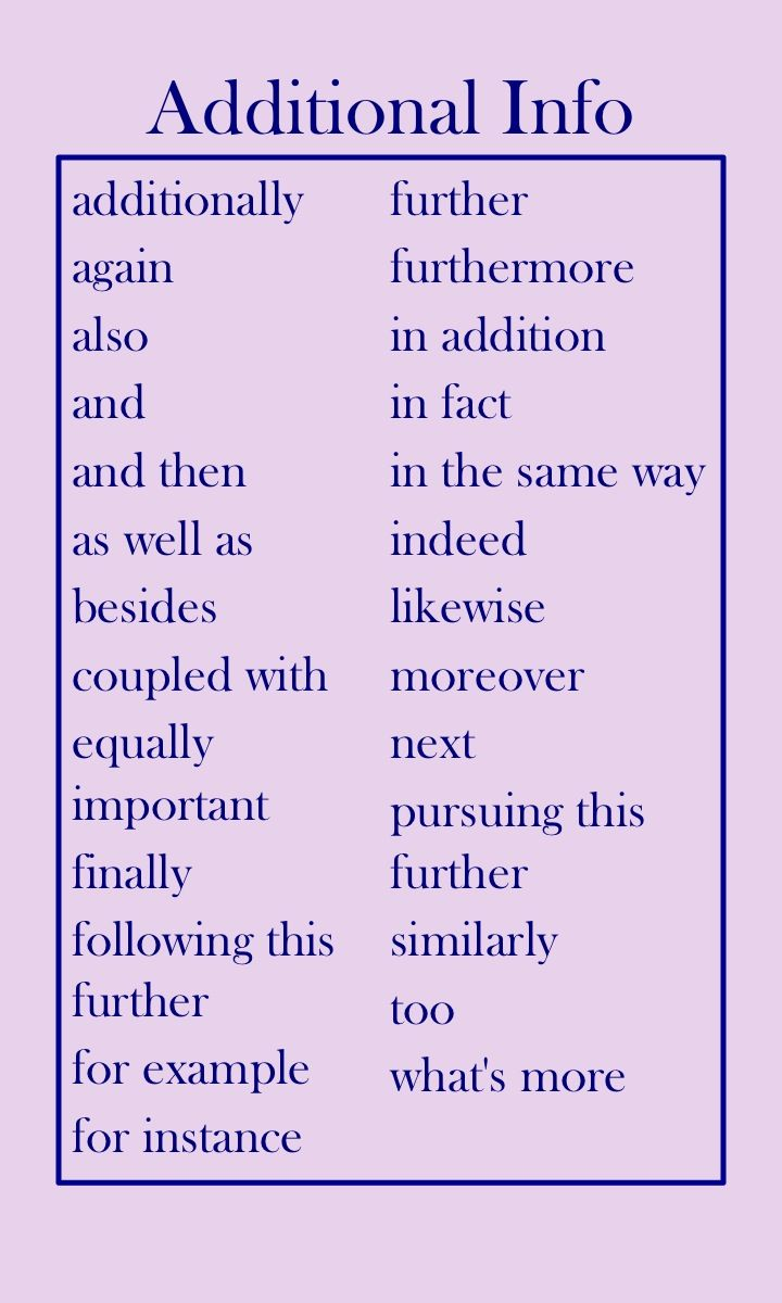 How To Add More Words My Essay