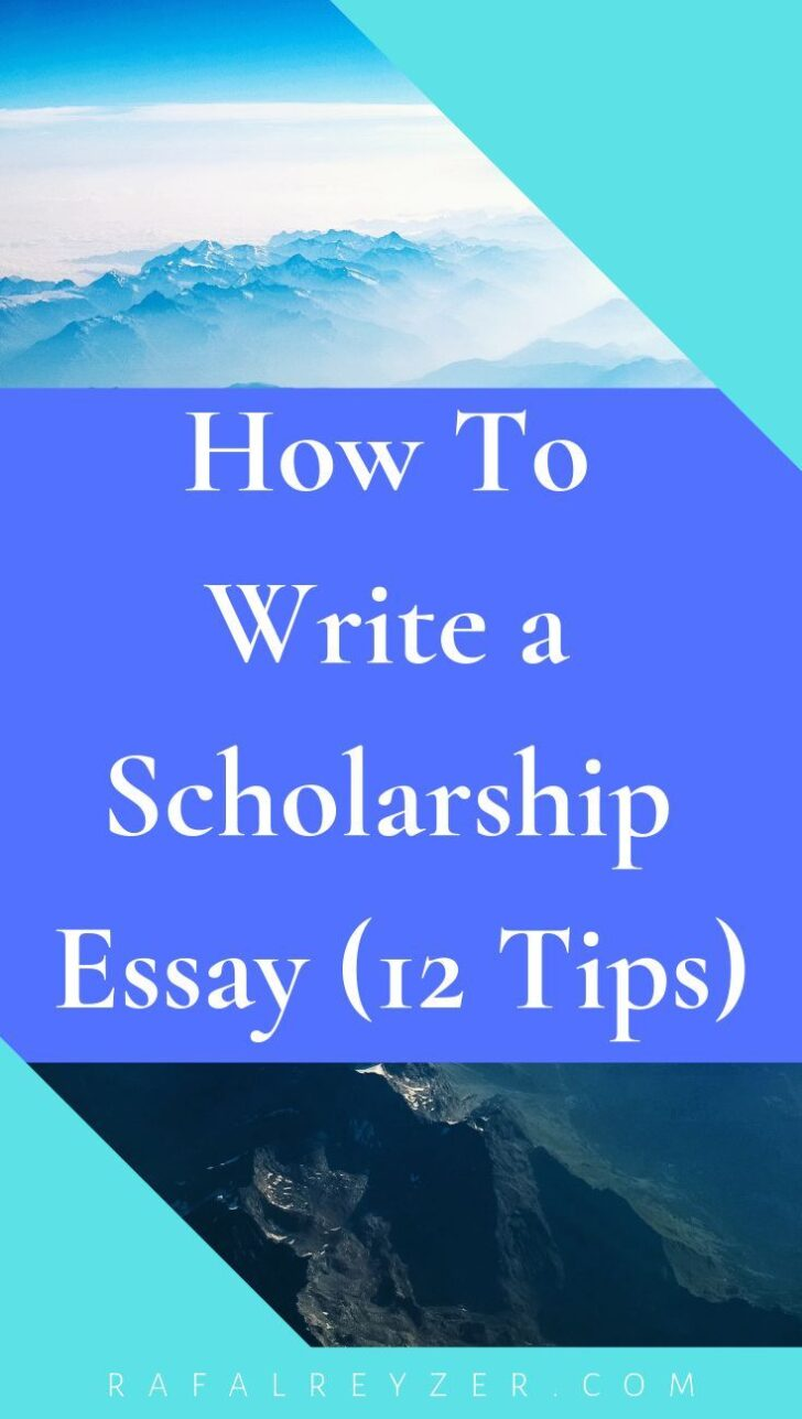 Why Do You Deserve This Scholarship Essay Sample