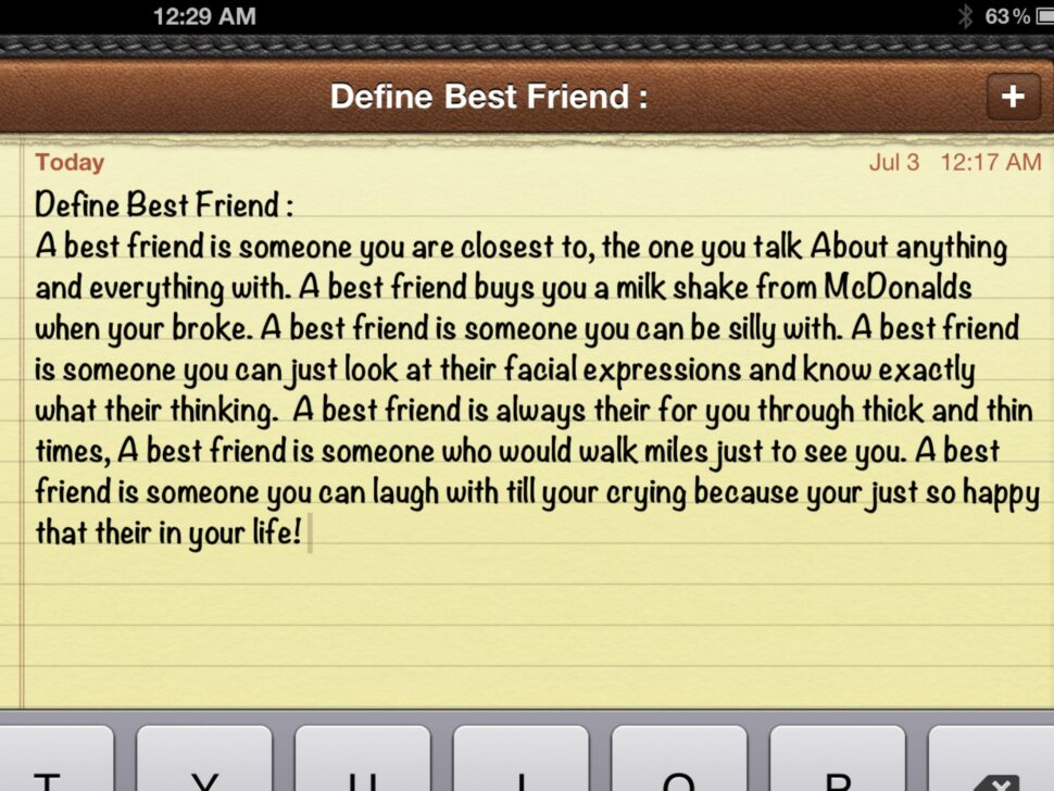 Large Size of What Makes A Good Best Friend Essay