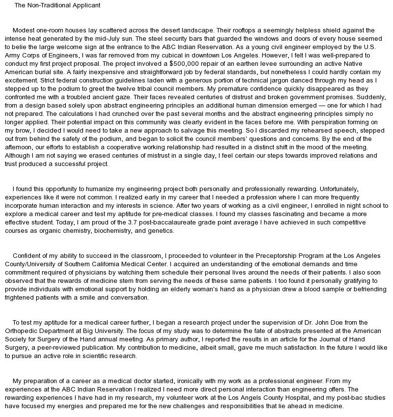 Full Size of Medical School Secondary Essay Examples