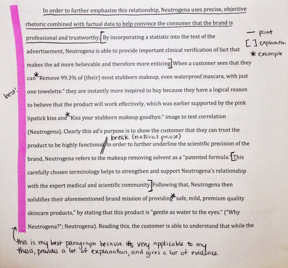 Large Size of Ad Analysis Essay Conclusion