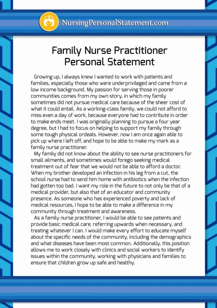 Why Do I Want To Be A Family Nurse Practitioner Essay