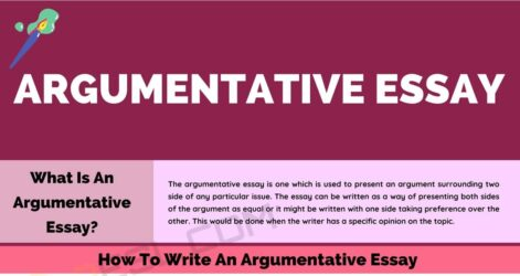 Argumentative Essay Definition Outline Examples Of 7esl Society Self Reflection