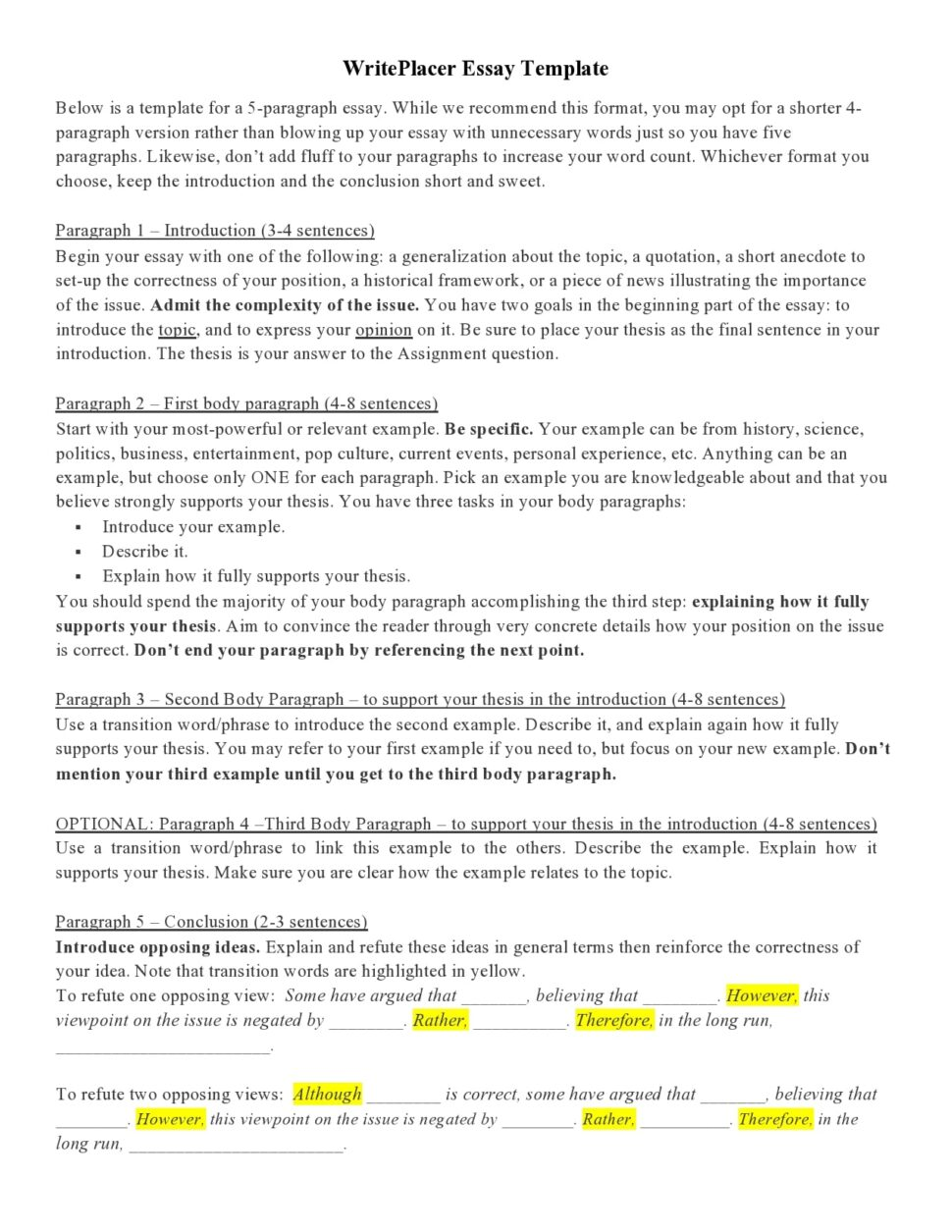 Large Size of Argumentative Essay Introduction Template Builder Word