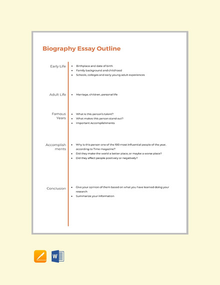 Full Size of Autobiography Essay Template Draft Outline Front Page Writing