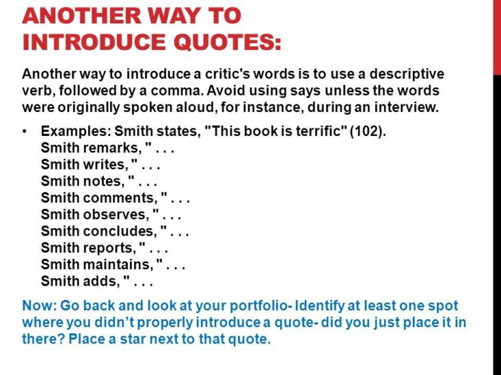 How To Properly Introduce Quotes In An Essay