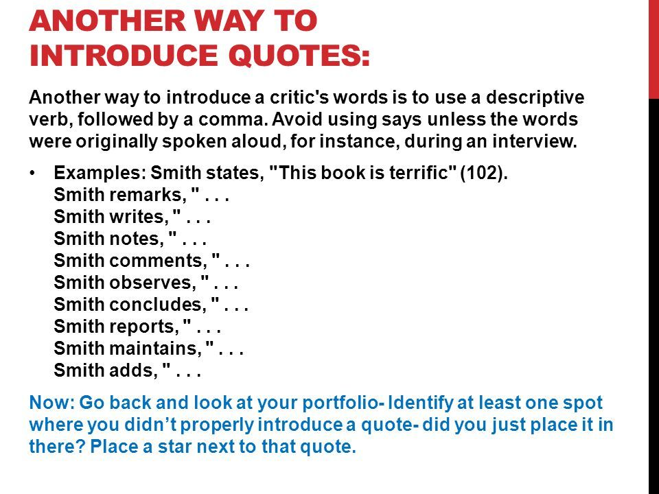 Full Size of How To Properly Introduce Quotes In An Essay