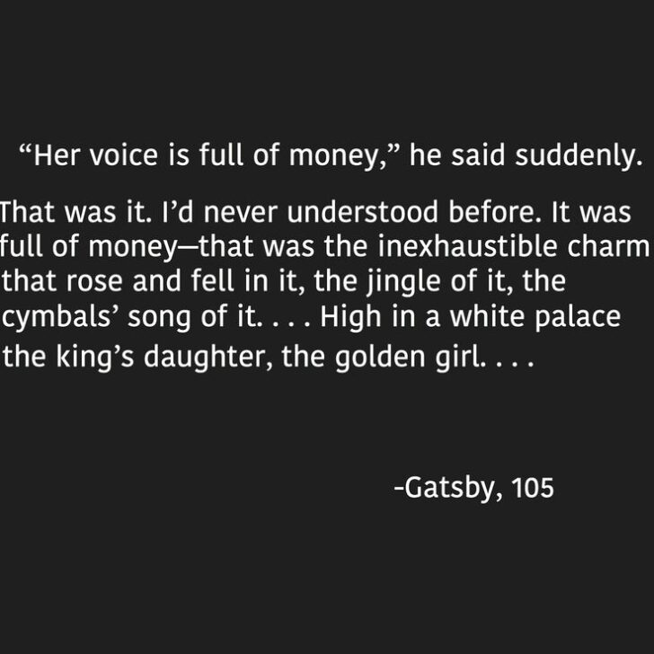 What Is The Great Gatsby Saying About American Dream Essay