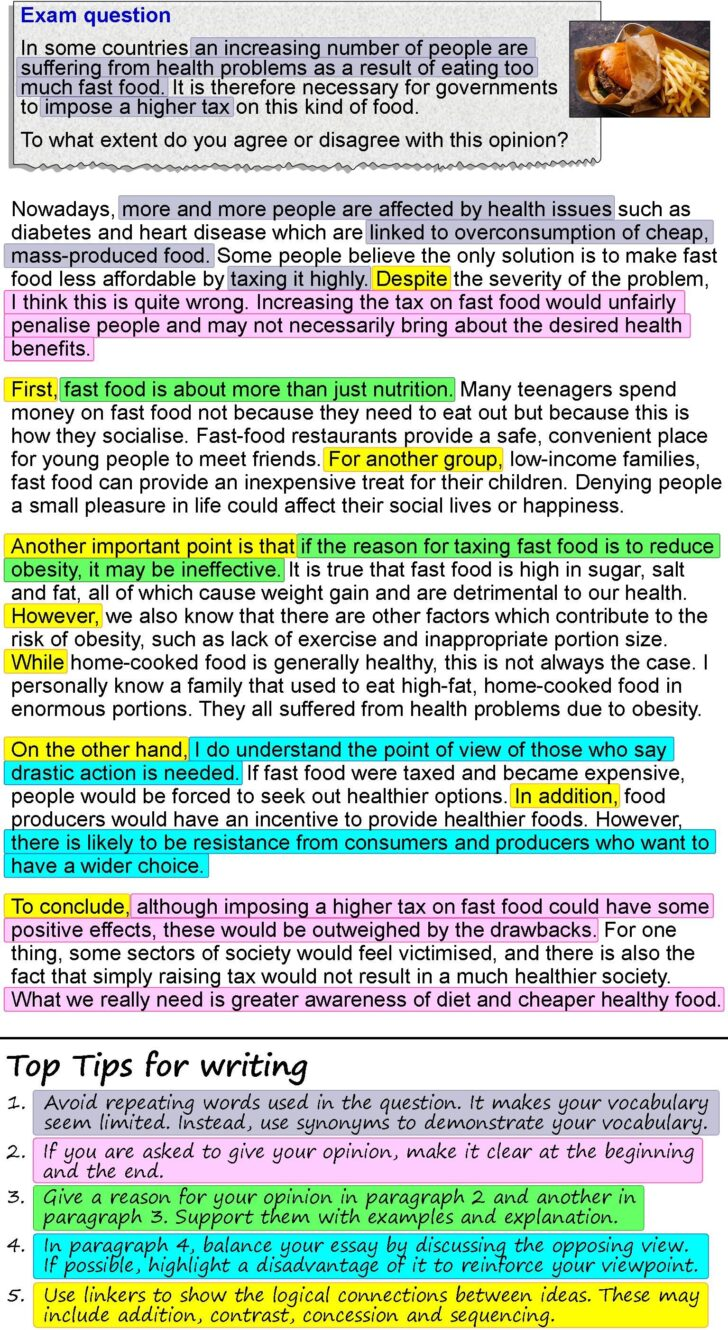 Healthy Eating Essay Conclusion