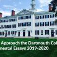 Thumbnail Size of Good Why Dartmouth Essay