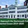 Thumbnail Size of Why Dartmouth Essay Example