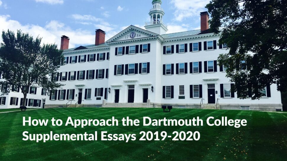 Large Size of Why Dartmouth Essay Example