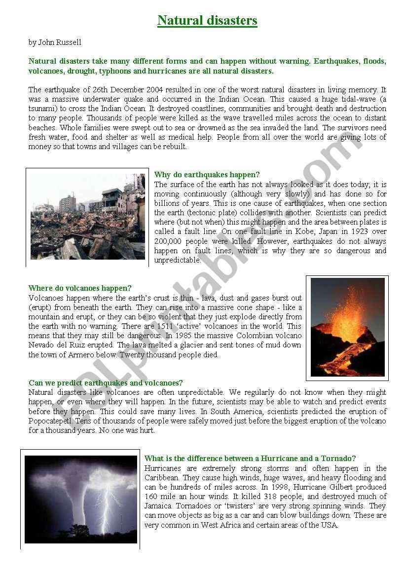 Full Size of Natural Disasters Essay Pdf