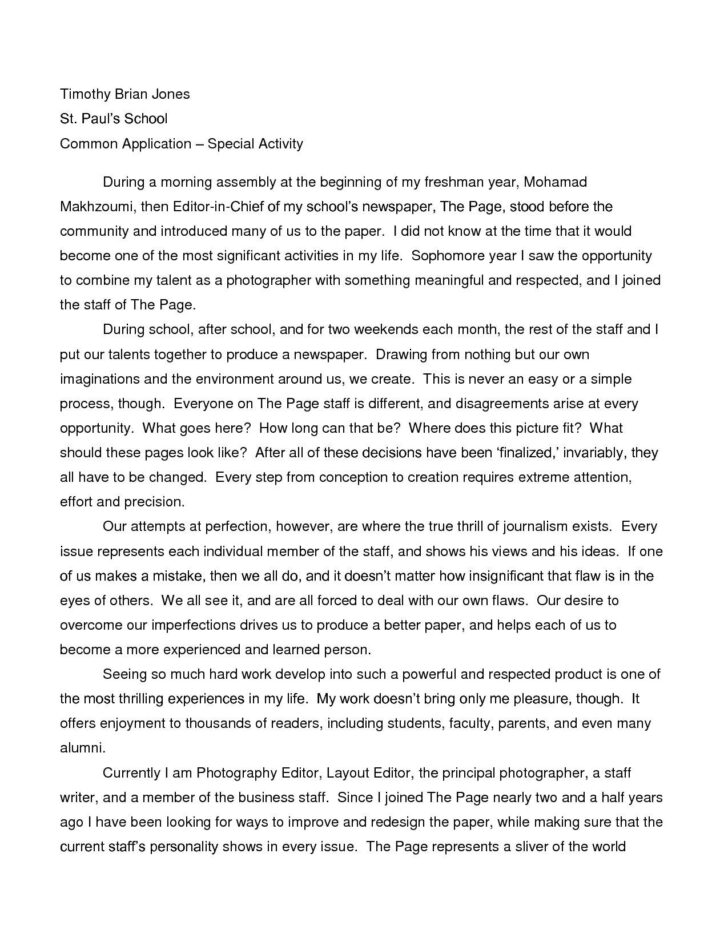Free Argumentative Essay Examples For High School