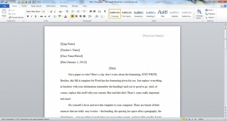 How To Set Up An Essay In Word