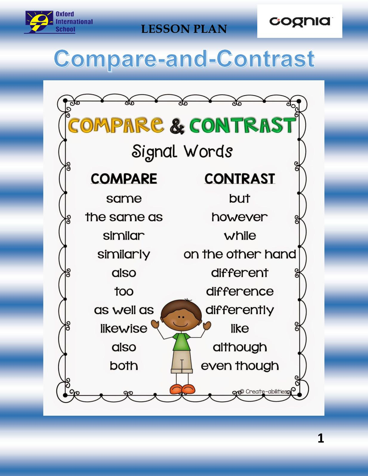 Full Size of Calaméo Compare And Contrast Comparison P1 Literary Essay Do My Writing Service