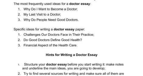 Calaméo Doctor Essay Papers Possible Themes For Students To Develop Want Become P1 I A