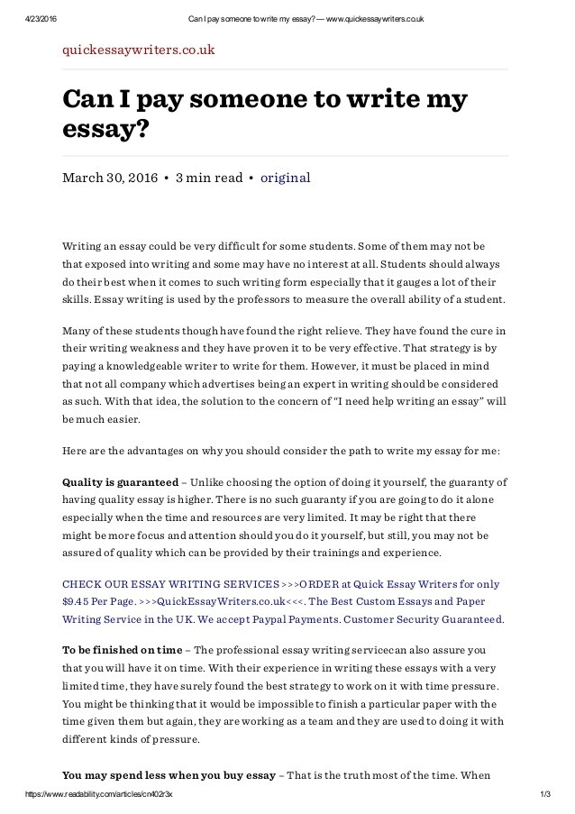 Full Size of Can Pay Someone To Write My Essay Quickessaywriters Wwwquickessaywriterscouk Technology