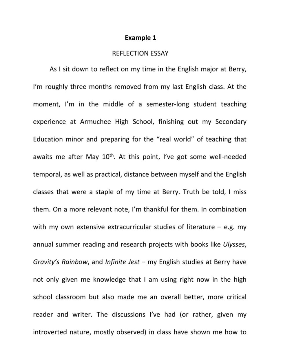 Large Size of Career Goals Essay Uchicago Supplemental Essays Ib Extended Reflection Paper Template
