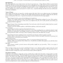 College Admission Essay Prompts Samples Creative Example This Sample 1920x2485 Comparison
