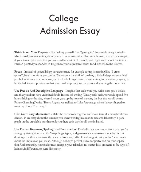 College Application Essay Help Graduate Writing Your School Admissions To Write How A